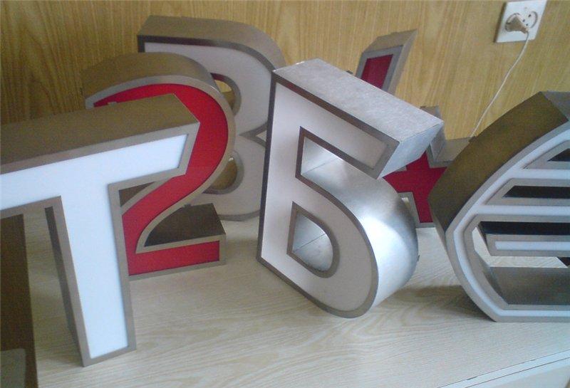 буквы для вывесок