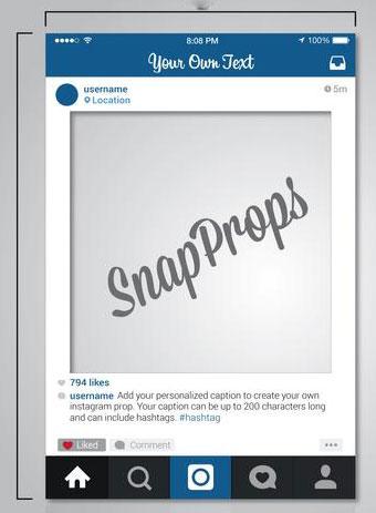 рамками селфи от Instagram
